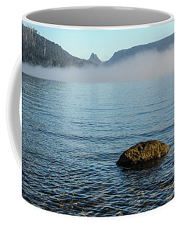 Coffee Mug featuring the photograph Early Morning At Lake St Clair by Werner Padarin