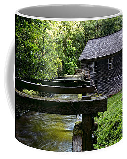 Early Morning At Mingus Mill In The Great Smoky Mountain National Park Coffee Mug