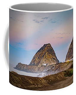 Early Morning At Mugu Rock Coffee Mug