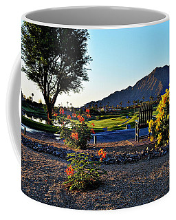 Early Morning At The Dunes Golf Course - La Quinta Coffee Mug