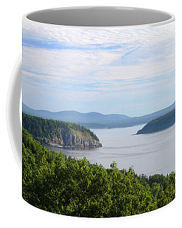Coffee Mug featuring the photograph Early Morning Beauty In Acadia by Living Color Photography Lorraine Lynch