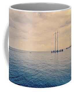 Early Morning Boat Ride - Nola Coffee Mug by Kathleen K Parker