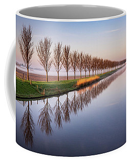 Coffee Mug featuring the photograph Early Morning By The Canal by Susan Leonard