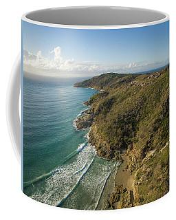 Early Morning Coastal Views On Moreton Island Coffee Mug
