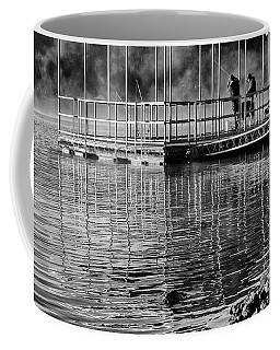 Coffee Mug featuring the photograph Early Morning Fishing by Dennis Hedberg