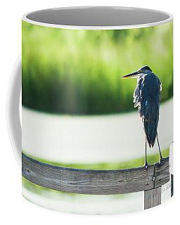 Early Morning Great Blue Heron Coffee Mug