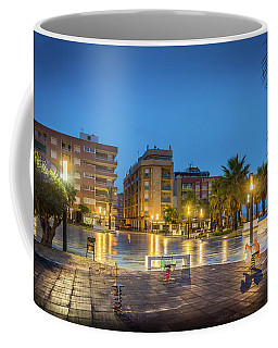 Early Morning In La Plaza Coffee Mug
