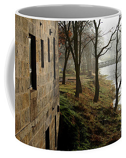 Early Morning Mist On The I  M Canal Coffee Mug