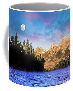 Early Morning On Snake River Coffee Mug