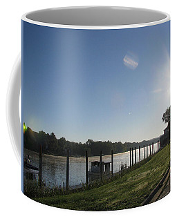 Early Morning On The Savannah River Coffee Mug by Donna Brown