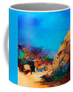 Early Morning Over The Canyon Coffee Mug