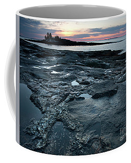 Early Morning Sky And The New Harbor Shoreline  #8194-95 Coffee Mug