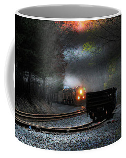 Early Morning Steel Coffee Mug