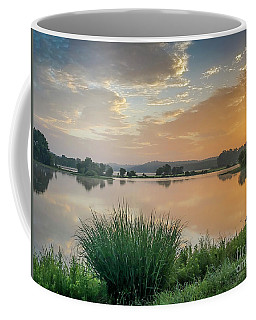 Early Morning Sunrise On The Lake Coffee Mug