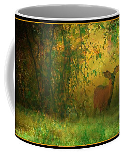 Early Morning Visitor Coffee Mug by Sherri Meyer