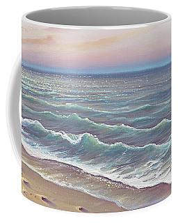 Early Morning Waves Coffee Mug