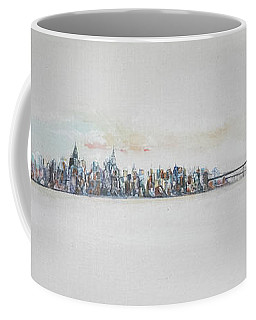 Early Skyline Coffee Mug