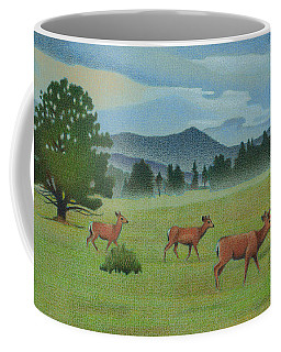Early Spring Evergreen Coffee Mug
