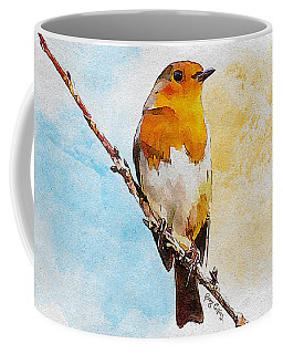 Coffee Mug featuring the painting Early Spring by Greg Collins