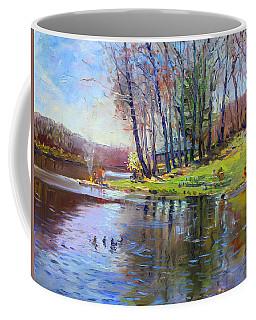 Early Spring In Bear Mountain Coffee Mug