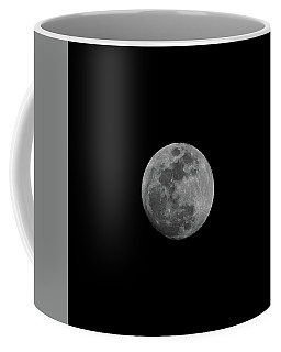 Coffee Mug featuring the photograph Early Spring Moon 2017 by Jason Coward