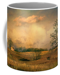 Coffee Mug featuring the photograph Early Spring Storm by John Rivera