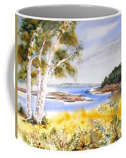 Early Summer Birches Coffee Mug