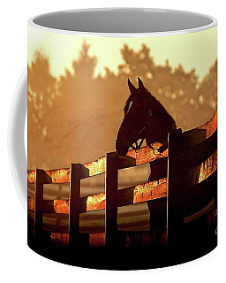 Early Sunrise On The Farm Coffee Mug