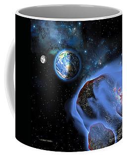 Earth Asteroids Coffee Mug