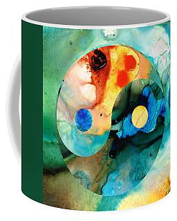 Earth Balance - Yin And Yang Art Coffee Mug