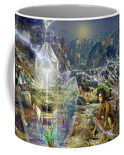 Earth Energy Coffee Mug by Shadowlea Is
