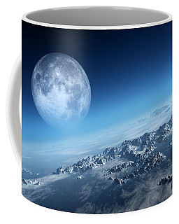 Earth Icy Ocean Aerial View Coffee Mug