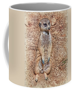 Coffee Mug featuring the photograph Earth Manikin by Hanny Heim