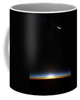 Earth Sunrise Through Atmoshere Coffee Mug