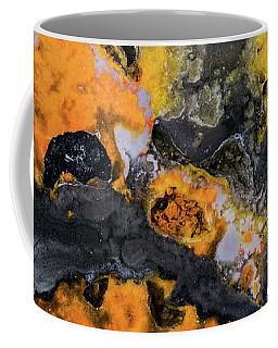 Earth Treasures - Yellow And Black Jaspis Coffee Mug