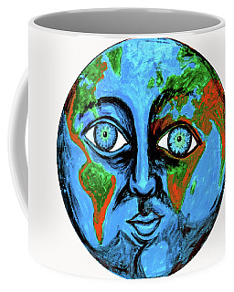 Earthface Coffee Mug
