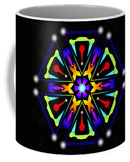 Coffee Mug featuring the digital art Earthscape Six by Derek Gedney