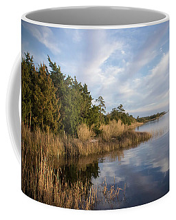 East Bank Looking South At Sunset Coffee Mug by Phil Mancuso