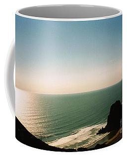 East Coastline In New Zealand Coffee Mug