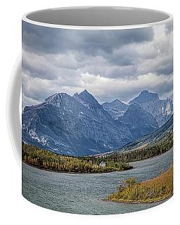 East Glacier Entrance Coffee Mug by Ronald Lutz