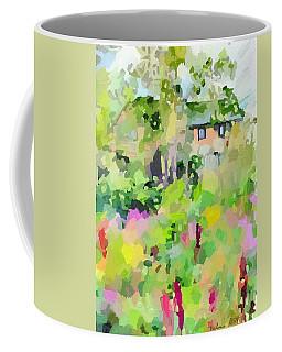 East Gloucester, Ma Stucco House Coffee Mug
