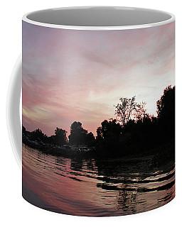 East Harbor Sunset Coffee Mug by Shawna Rowe
