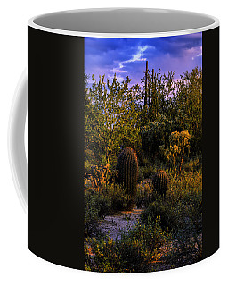 Coffee Mug featuring the photograph East Of Sunset V40 by Mark Myhaver
