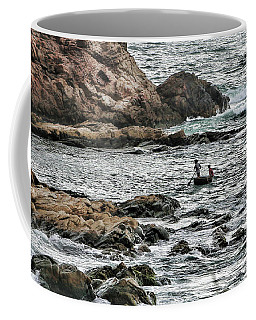 East Sea Ganh Da Dia  Vn Coffee Mug by Chuck Kuhn