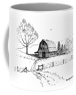 East Texas Hay Barn Coffee Mug