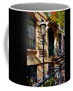 East Village New York Townhouse Coffee Mug