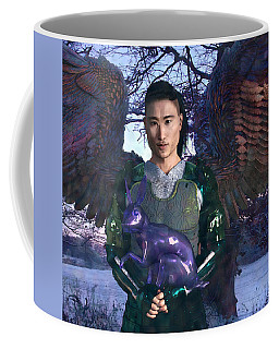 Easter Angel Poster Coffee Mug
