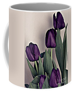 A Display Of Tulips Coffee Mug