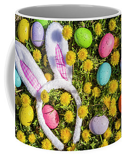 Easter Bunny Ears Coffee Mug