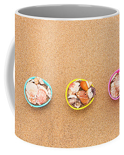 Easter Egg Baskets On Beach Coffee Mug